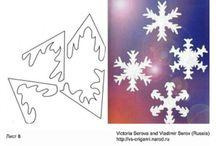 Prace plastyczne zima