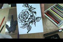 watercolour pencil techniques