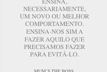Mum's the boss sentences