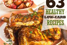 Recipes Healthy & Low Carb / by Vickie Erickson