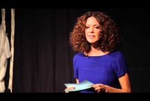 TED talks and good speeches / Interesting words from very bright people. / by Erika Lancaster
