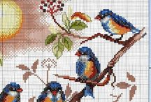 cross stitch Animals