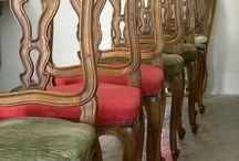 Idee Sedie / Ecco alcune sedie restaurate dal nostro team di restauratrici