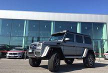 Mercedes-Benz G  4x4²