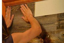 cubrir pared efecto madera