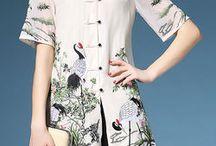 chinese shirt woman blouses