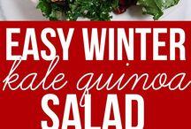 food & salad