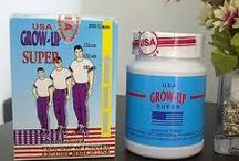 Obat peninggi badan herbal grow up usa