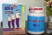 Obat peninggi badan herbal grow up usa