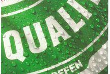 Heineken / Reclame van Heineken. Interesse is ontstaan na het Heinekenproject bij opleiding Accountancy, 1996/1997.