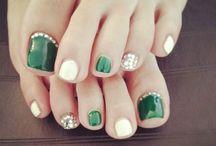 Füße Nägel