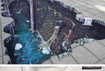 3D and street art
