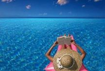 Relax / Relaxation is a top priority to me :) give me a comfortable seat, hammock, or float, a good book, and the sound of water. / by Laurie Robbins