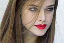 Make up - Red lip's