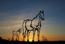 Horse metal