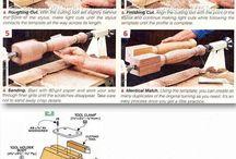 Příslušenství k soustruhu na dřevo