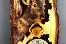 Deer cloc