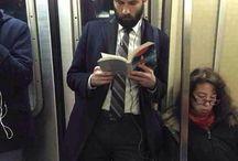 Hot reading guys
