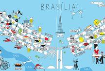 Referências Brasília / by Alline Cabral