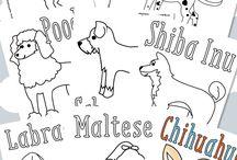 Malebog hunde