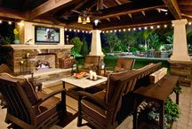 outdoor living ideas / by Amy Higgins-Margalli