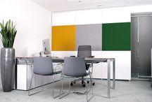 Akustische Trennwand / Mobile, akustische Raumtrenner Silenzio. Trennwand für das Büro, Schallschutz.
