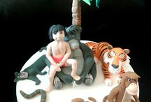 Jungle book cakes
