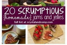 Canning / Mason jars and canning crocks! Save money and preserve your own fruits, vegetables, meat, jams, jellies and more!