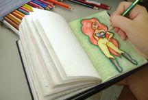 Minhas artices ;D / me aventurando na arte ;D