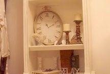 Repurposed furniture bookshelves