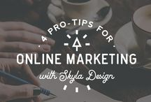 Online Marketing Tips for Designers / Online Marketing Tips for designers and creative entrepreneurs.