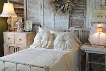 shabby bedrooms