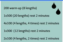 Just keep swimming! / Swimming workouts