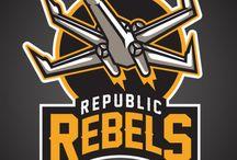 Logos Star Wars Sports Teams / Colección de Logos de equipos deportivos ficticios basados en los personajes de Star Wars.