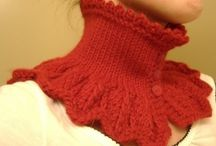 Goth knitting