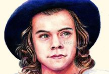 One Direction Drawings