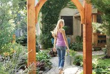 Garden Decor / Things to build or buy to decorate the garden areas; also organization of the garden from a decorating point of view.  {Gardening tips on separate board}