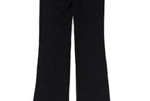 Yogo pants, sweat pants, and jeans:)