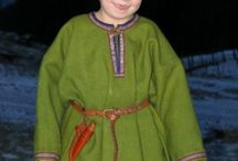 Viking/Saxon period Children's clothing and patterns