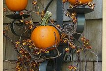 Fall decorating / by Kristin Wood