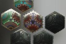 Enamel I / studio art jewelry from enamelists / by L. Sue Szabo