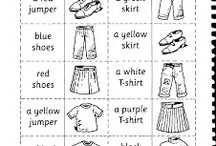 Clothes - ideas for lesson