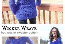 Sweaters, blusas, túnicas / Patrones dos agujas y crochet
