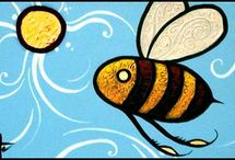 Bee Amazing! / I love everything to do with honey bee's. / by >>>---Linda--->