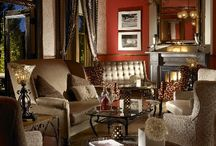 "The Staab House Lounge at La Posada de Santa Fe, a Luxury Collection Resort & Spa / Travel + Leisure Magazine raves that ""The Staab House is the coziest bar in Santa Fe"".  Housed in a 19th-century mansion, The Staab House serves signature cocktails, created by a team of master mixologists, and standout small plates.  The bar offers live entertainment most evenings, Happy Hour specials during the week, and the most creative drinks among the best Santa Fe bars. / by La Posada de Santa Fe, a Luxury Collection Resort & Spa"