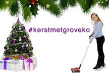 Kerst met Groveko / Op dit pinbord verzamelen wij alle foto's ingestuurd via onze Facebook pagina of via Twitter met de hashtag #kerstmetgroveko. 2 januari 2014 kiezen wij de allerleukste foto uit en die ontvangt van ons een mooie prijs. Voor meer informatie: