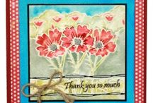 Remembrance / This is the Brand New set designed by Sharon Bennett for Hobby Art. As seen on Create & Craft / by Hobby Art Stamps