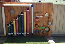 hrací stěny