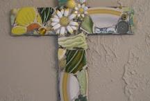 Mosaic Crafts / Broken china