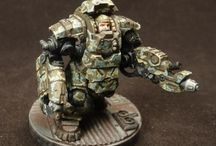 Gaming - Miniatures painting & showcase